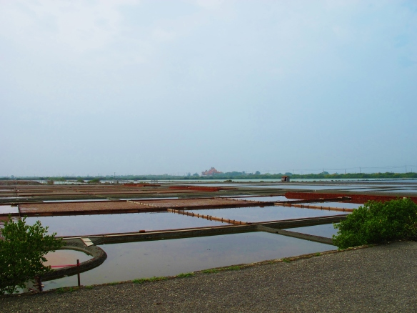 Salt pans at Sihcao.