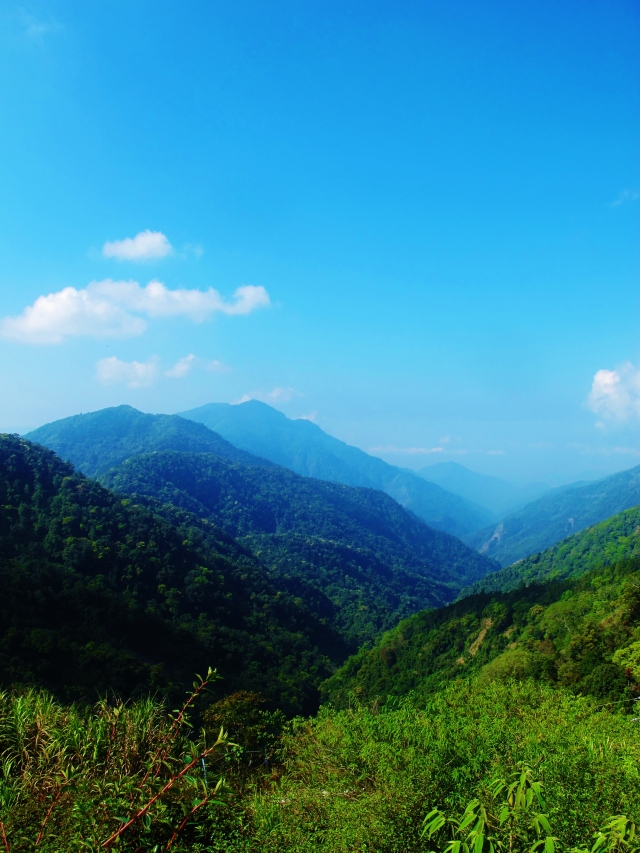 Tengjhih National Forest offers stunning views on a spring morning .... and it's less than two hours drive from Kaohsiung.
