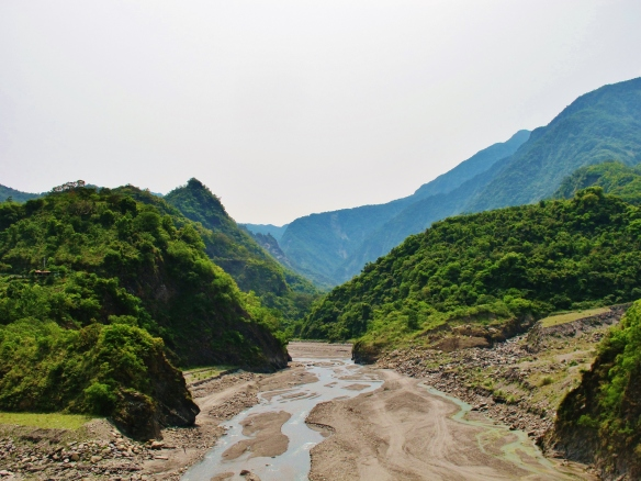 River valley near Dawu.
