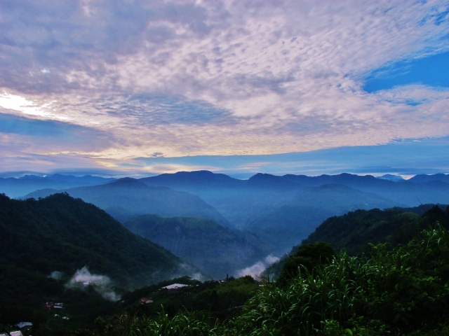 Early morning views at about Km 53 on Highway 18. Alishan is a magical place.