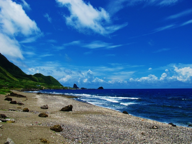 Lanyu island.